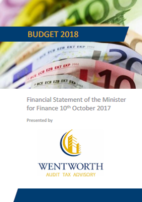 WENTWORTH BUDGET 2018 Summary